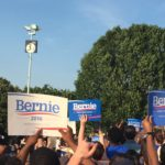 Bernie Sanders supporters rally in Washington D.C. on June 9, 2016. (Photo credit: Chelsea Gilmour)