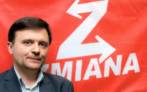 Mateusz Piskorski, a Polish anti-NATO activist and founder of Zmiana (Change) party.