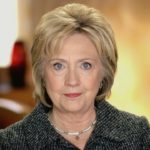 Former Secretary of State Hillary Clinton.