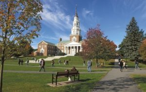 Colby College in Waterville, Maine.