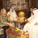U.S. Secretary of State Hillary Clinton meets with Saudi King Abdullah in Riyadh on March 30, 2012. [State Department photo]