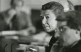 President Ronald Reagan with Budget Director David Stockman. (Photo credit: Reagan Library)