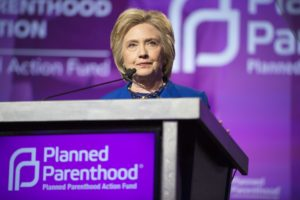 Former Secretary of State Hillary Clinton speaking at Planned Parenthood Action Fund membership event at the Washington Hilton on June 10, 2016. (Photo by Lorie Shaull, Wikipedia)