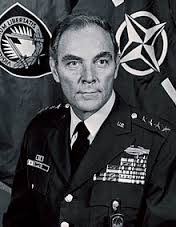 General Alexander Haig, who also served as a senior White House aide under President Nixon and Secretary of State under President Reagan.