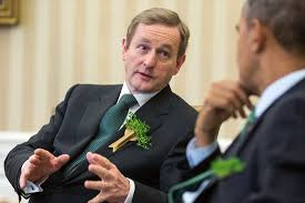 President Barack Obama holds a bilateral meeting with Prime Minister Enda Kenny of Ireland in the Oval Office, March 14, 2014. (Official White House Photo by Pete Souza)