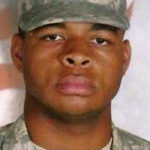 Micah Johnson, the Afghan War veteran accused of murdering five Dallas police officers on July 8, 2016. After being cornered, he was killed by a bomb delivered by a police remote-controlled robot.
