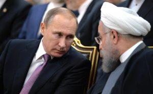 Iranian President Hassan Rouhani meets with Russian President Vladimir Putin on Nov. 23, 2015 Tehran. (Photo from: http://en.kremlin.ru)