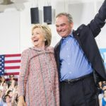 Democratic presidential candidate Hillary Clinton and her vice presidential choice, Sen. Tim Kaine. (Photo credit: HillaryClinton.com)