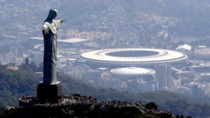 The scene in Rio de Janeiro as the 2016 Summer Olympics were set to begin. (Photo credit: Olympic.org)