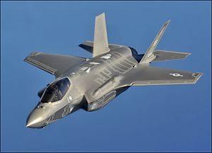 Lockheed-Martin's F-35 war plane.
