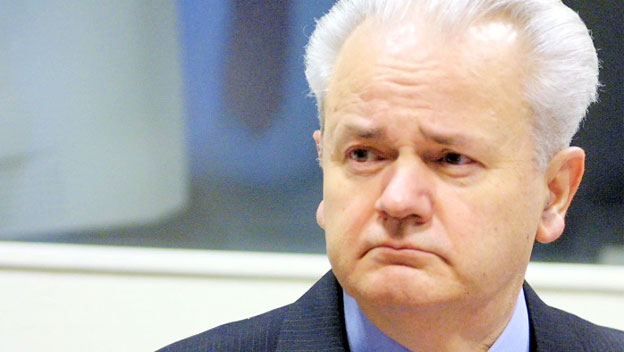 Serbian leader Slobodan Milosevic.