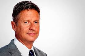 Libertarian Party presidential nominee Gary Johnson.