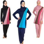 Swimwear for religiously observant Muslim women. (As advertised on Ebay)