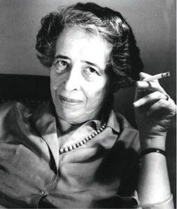 Political theorist Hannah Arendt. (Flicker Ryohei Noda)