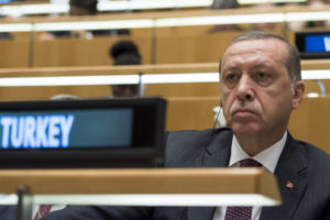 Recep Tayyip Erdo?an, President of Turkey, during the general debate of the General Assembly's seventy-first session. 20 September 2016 (UN Photo)