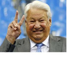 Russian President Boris Yeltsin.