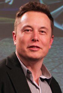 Businessman and entrepreneur Elon Musk.