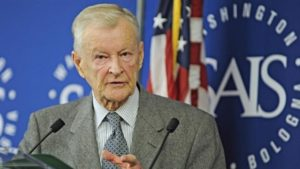 Former U.S. National Security Advisor Zbigniew Brzezinski