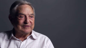Billionaire currency speculator George Soros. (Photo credit: georgesoros.com)