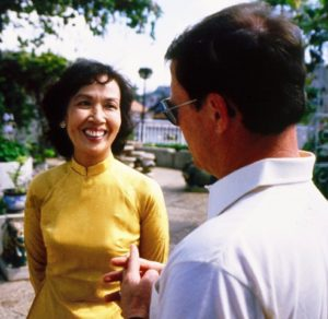 "Trinh Thi Ngo, known as ""Hanoi Hannah"" who broadcast English-language propaganda to U.S. G.I.'s during the Vietnam War. Photographed after the war, in 1978, by Don North)"