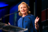 Former Secretary of State Hillary Clinton speaking at an Atlantic Council event in 2013. (Photo credit: Atlantic Council)