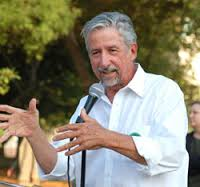 Tom Hayden, anti-war activist and progressive leader.