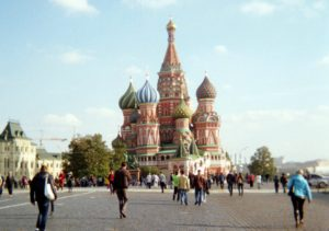 St. Basil's Cathedral, Red Square, Moscow (Photo by Natylie S. Baldwin)
