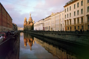 Church on Spilled Blood, St. Petersburg (Photo by Natylie S. Baldwin)
