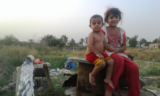 Iraqi children caught in the ongoing chaos of Iraq. (Photo credit: Cathy Breen)