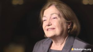 Nobel Peace Prize winner Mairead Corrigan Maguire. (Photo from YouTube)