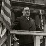 New York City's three-term Mayor Fiorello H. LaGuardia.