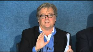 Steve Bannon, political adviser to President-elect Donald Trump. (Photo from YouTube)