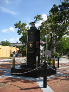 Bay of Pigs monument in Miami's Little Havana. (Photo credit: formation)