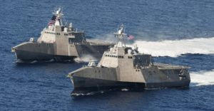 U.S. Navy's Littoral Combat Ships. (Photo credit: U.S. Navy)