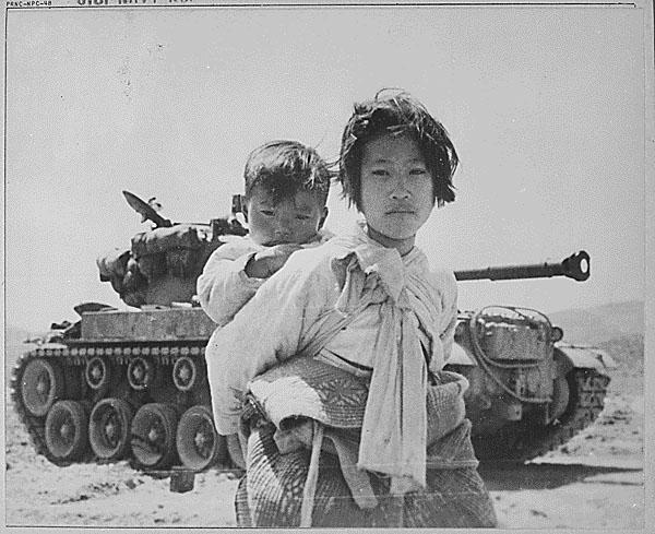 how far was the korean war