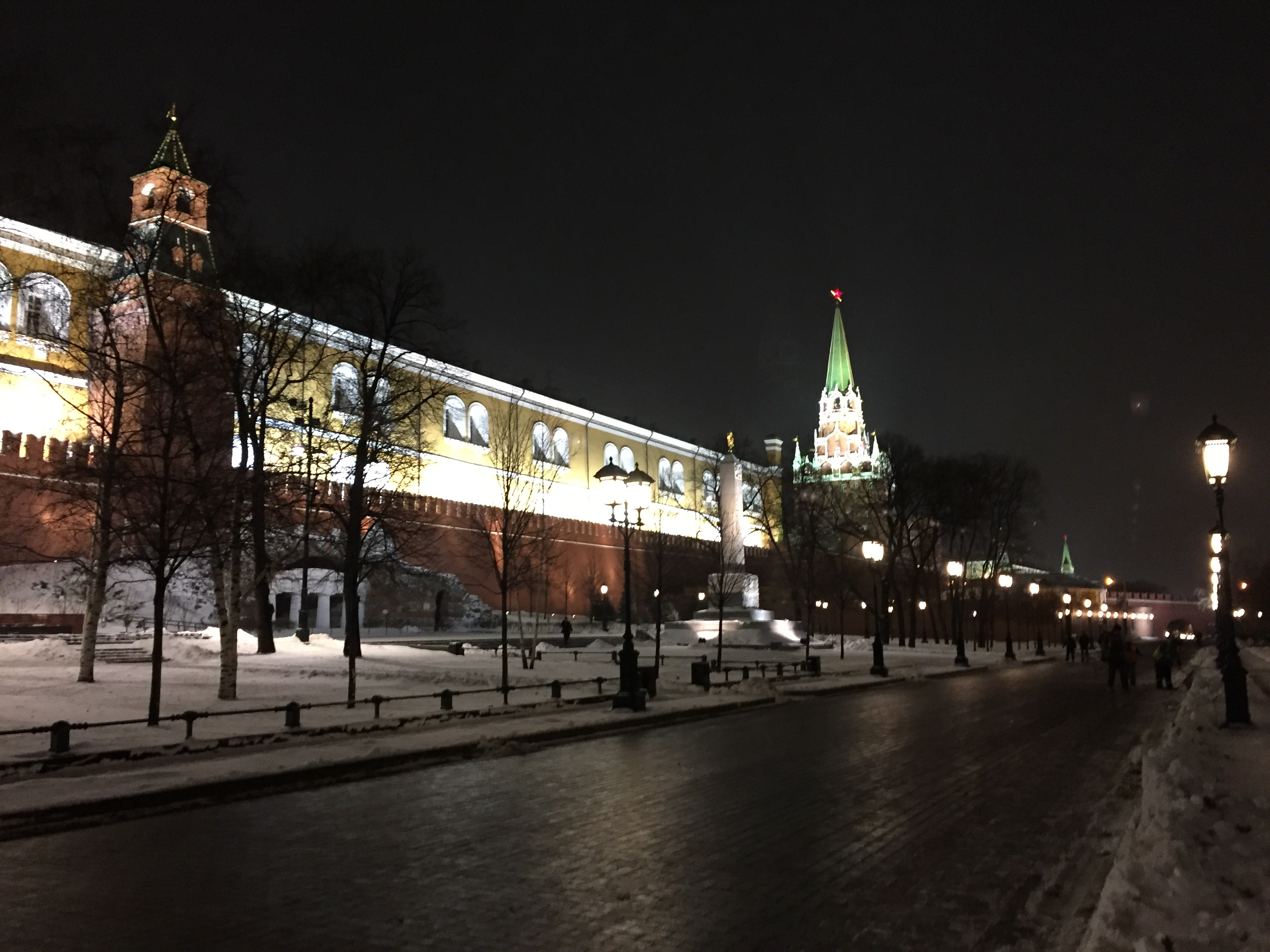 Tomb of the Unknown Soldier outside the Kremlin wall, Dec. 6, 2016. (Photo by Robert Parry)