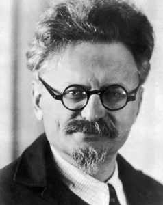 Trotsky: His permanent revolution turned into permanent war.