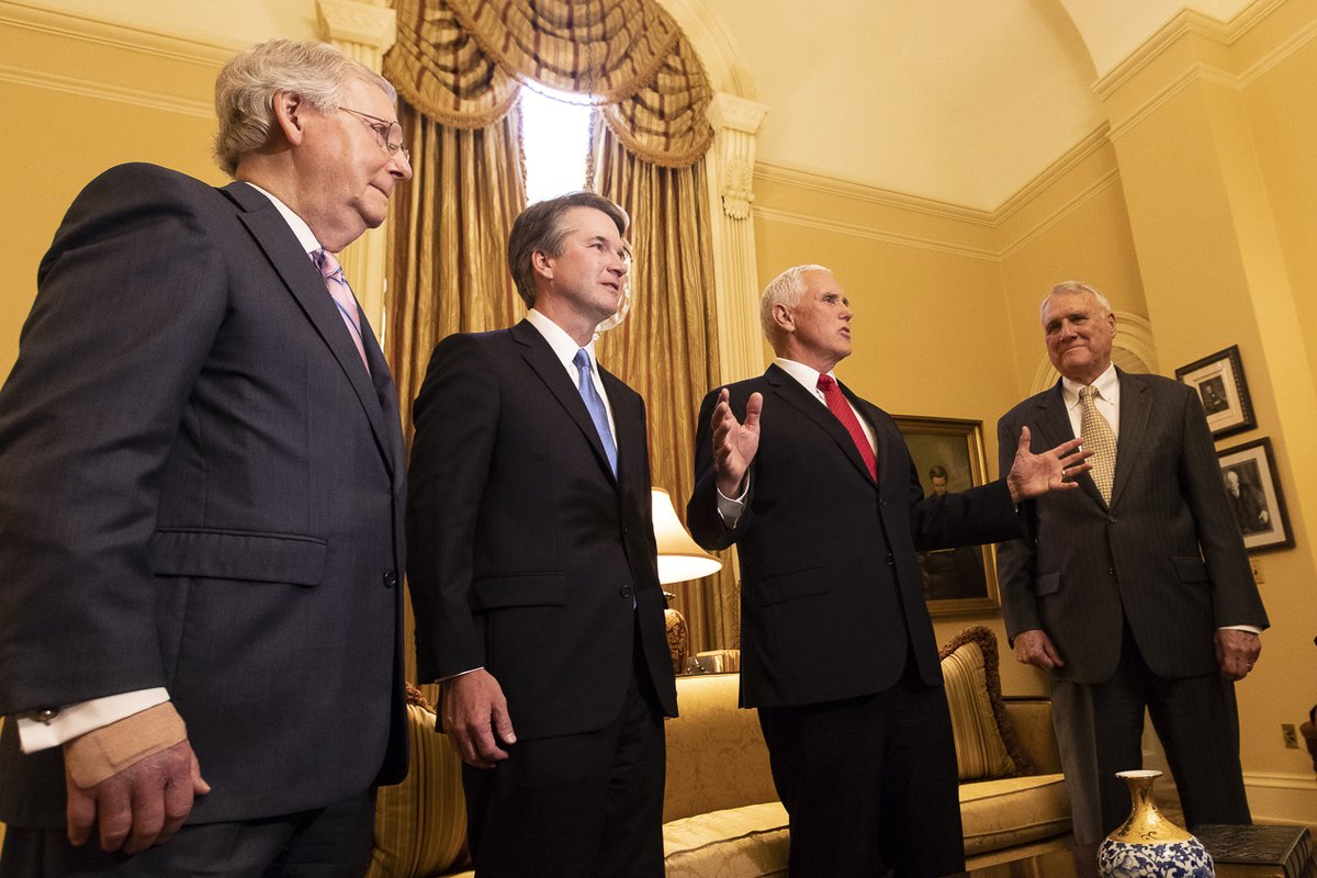 Five Reasons Why the GOP Rushed to Confirm Kavanaugh