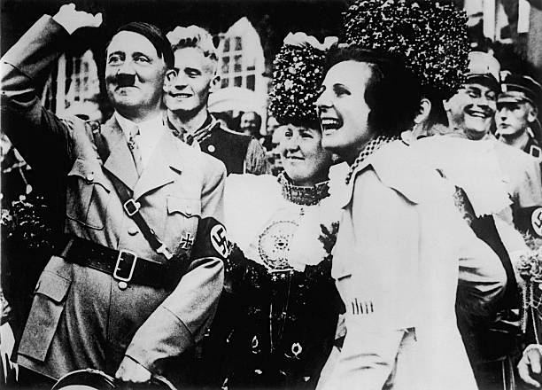 Leni Riefenstahl (r.) (Keystone-France/Gamma-Keystone via Getty Images)
