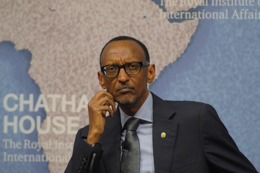 Paul Kagame, the president of Rwanda. (Chatham House / CC BY 2.0)
