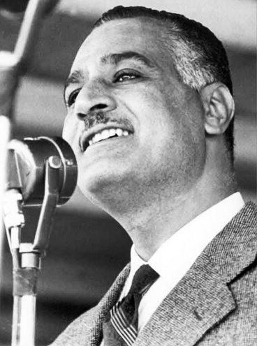 Egypt's former President Gamal Abdel Nasser (Wikimedia)