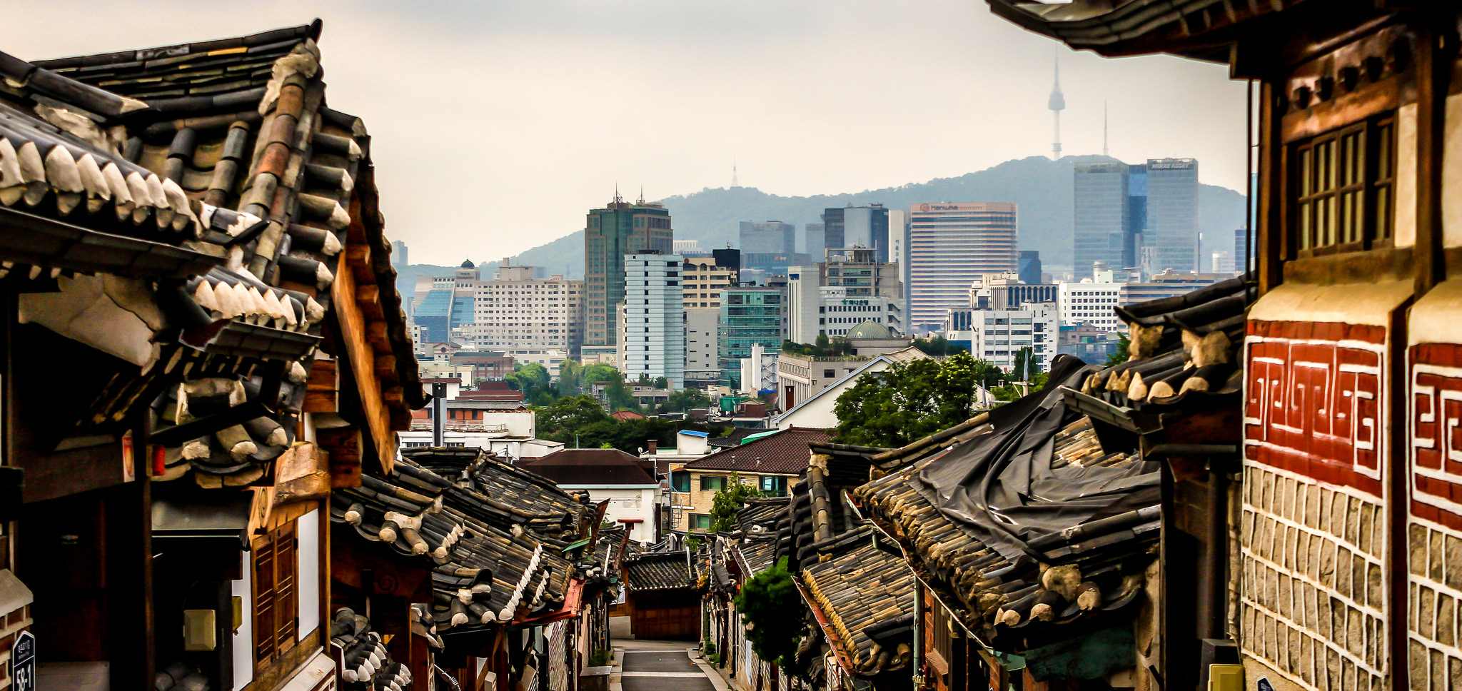 Bukchon Hanok Village, Seoul, South Korea (Doug Sun Beams via Flickr)