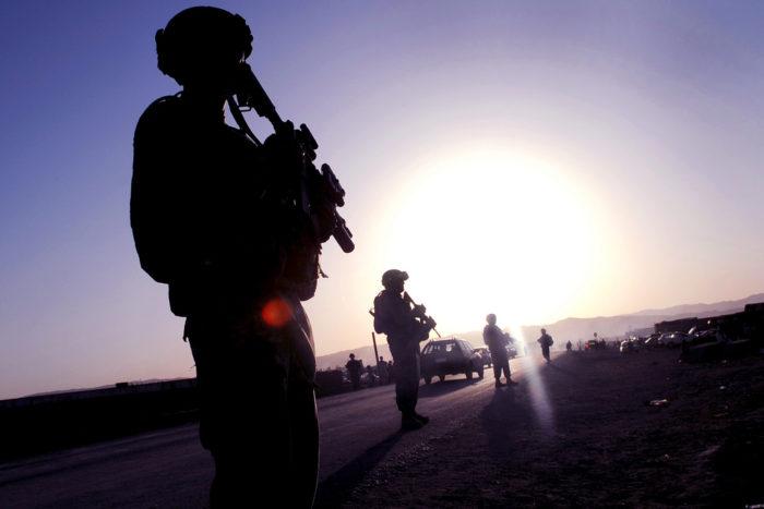 Arizona National Guard on duty in Sharana, Afghanistan, 2009. (The National Guard via Flckr)