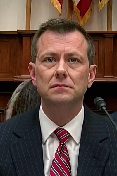 Peter Strzok during congressional hearing in July 2018. (Wikimedia)