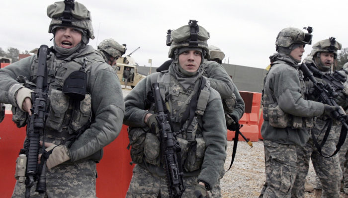 Tennessee Guard prepares for Iraq deployment, 2010. (The National Guard on Flckr)