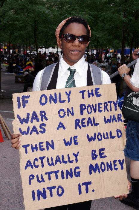 Besetzen Sie die Wall Street 25 September 2011. (David Shankbone über Flickr)