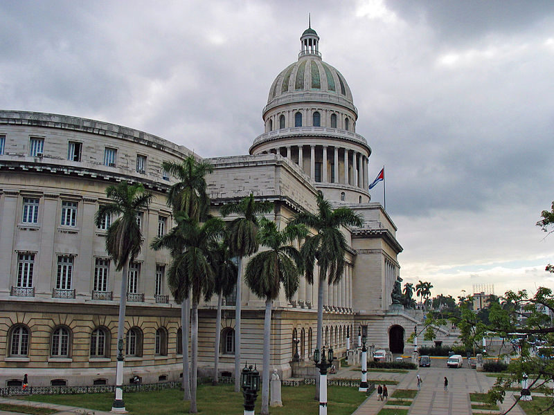 The National Capitol building in Havana. (Michael Oswald via Wikimedia)