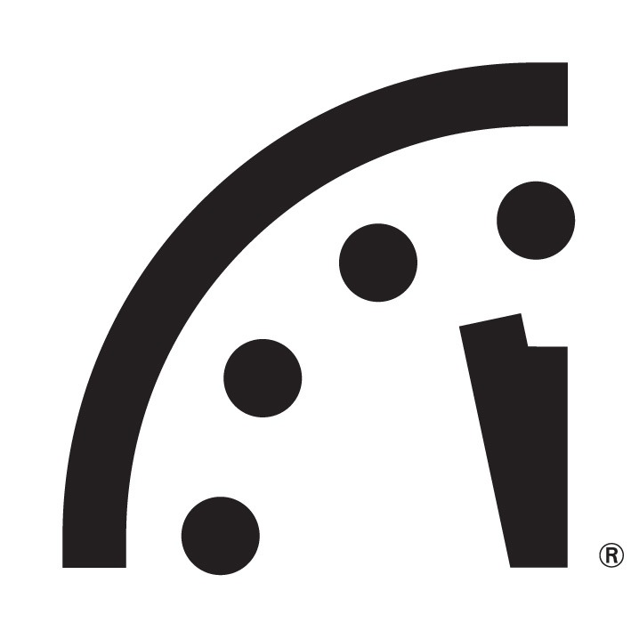 Doomsday Clock says it's two minutes until midnight. (Union of Concerned Scientists)