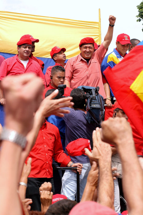 Hugo Chavez in 2004. (Franklin Reyes via Wikimedia)