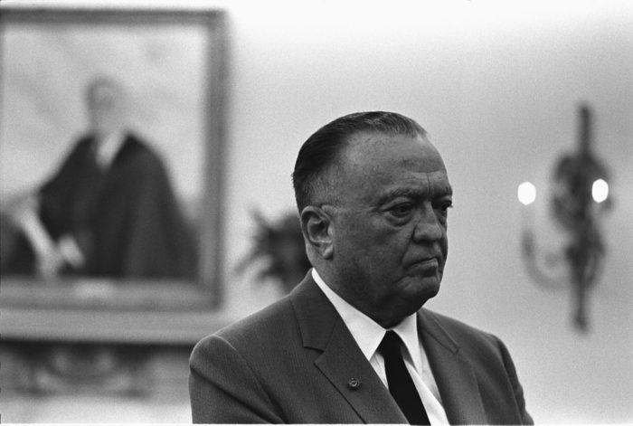 FBI Director J. Edgar Hoover in 1967. (Wikimedia)